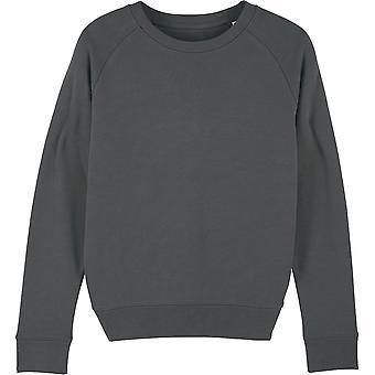 greenT Womens Organic Tripster Iconic Crew Neck Sweatshirt