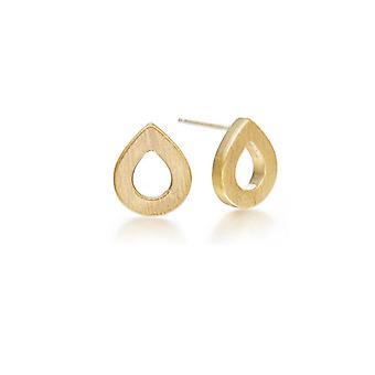 Kaytie Wu Gold Plated Water Drop Earrings 28016