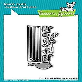 Lawn Fawn Little Music Notes Dies (LF1712)