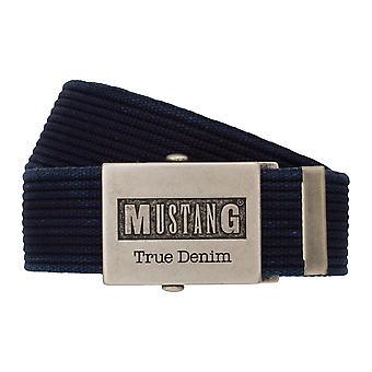 MUSTANG riem textiel riem mannen riem denim riem blauw 8048