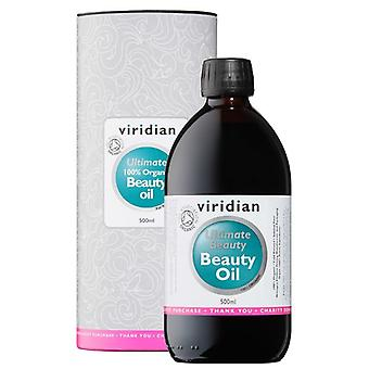 Viridian 100% ekologisk Ultimate Beauty Oil 500ml (501)