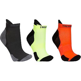 Trespass Mens Vandring Cushioned Coolmax 3 Pack Liner Socks