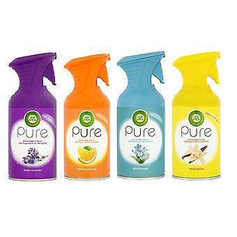 6 x 250Ml Air Wick Pure Air Freshner Spray