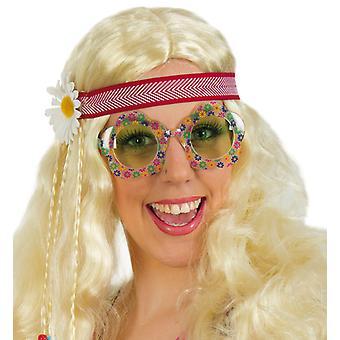Szemüveg hippi Flower gyermek Woodstock kiegészítő hippi