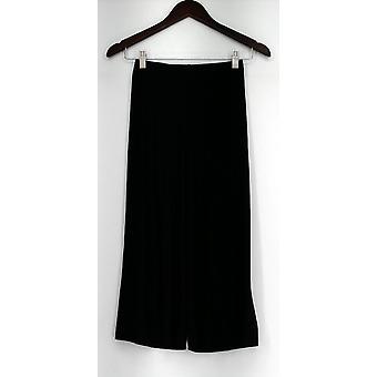 Attitudes by Renee Petite XXSP Pull On Liquid Knit Pants Black A275063