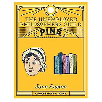 Pin Set - UPG - Jane Austen and Books5088