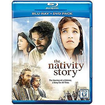 L'histoire de la Nativité [Blu-ray/Dvd] [2 disques] importation USA [BLU-RAY]