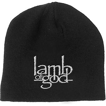 Lamb Of God Beanie Hat Band Logo Legion nouveau noir officiel