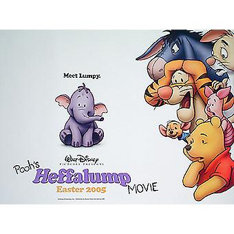 Pooh's Heffalump Movie Double Sided) Original Cinema Poster