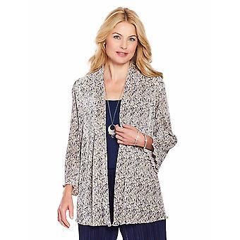 Chums Ladies Floral Plisse Soft Jacket