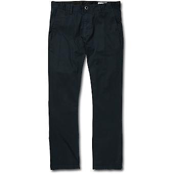 Volcom Frickin Modern Chino Trousers in Dark Navy