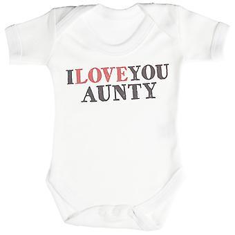 I Love You Aunty Baby Bodysuit / Babygrow