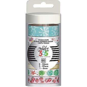 Happy Planner Washi Tape 7/Pkg-Everyday