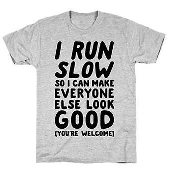 Ich laufe langsamt t-shirt