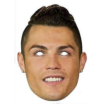 Cristiano Ronaldo Calciatore Carte Party Fancy Dress Maschera