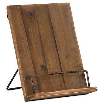 Colina Interiores Rústico Pantalla Receta Book Holder