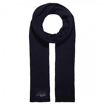 Superdry Orange Label Scarf Navy Grit KUX