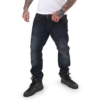 YAKUZA Men's Jeans Gimp Straight