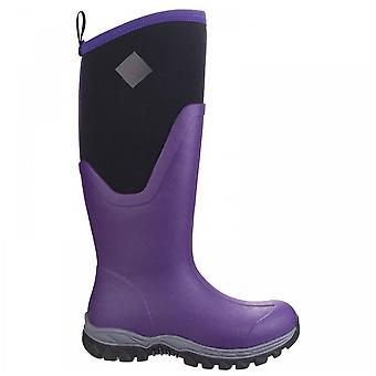 Muck Boots Ladies Arctic Sport Ii Acai Fleece Lined Tall Wellington Boots