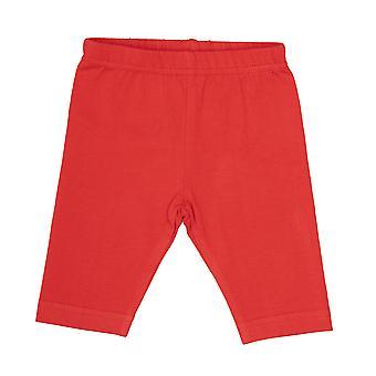 BabyBol Girls Legíny červená
