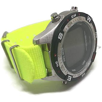 N.a.t.o zulu g10 style watch strap neon yellow