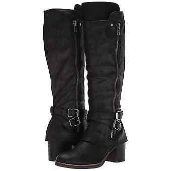 Carlos by Carlos Santana Womens Reagan Leather Closed Toe Knee High Fashion B...