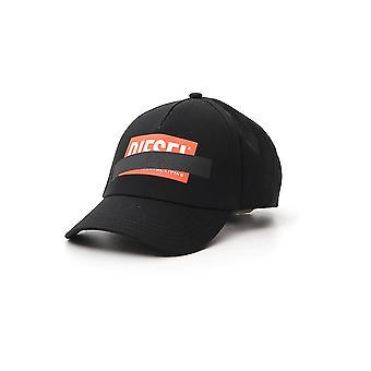 Diesel 00sj6p0japg900 Mænd's Black Cotton Hat