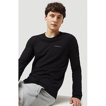 O'Neill Men's Langærmet T-shirt ~ Essentials sort