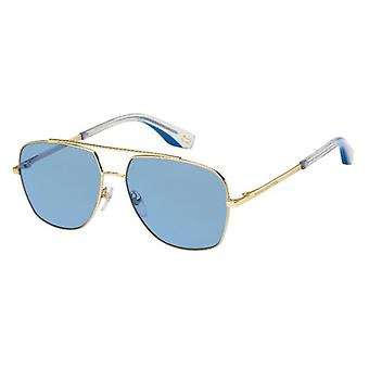 Marc Jacobs Marc 271/S LKS/KU Gold-Blue/Blue Sunglasses