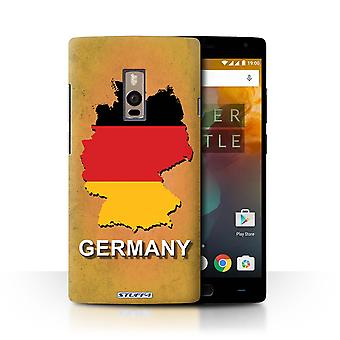 STUFF4 Case/Cover for OnePlus 2/Two/Germany/German/Flag Nations