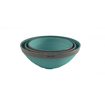Outwell Lime Collaps Bowl Set