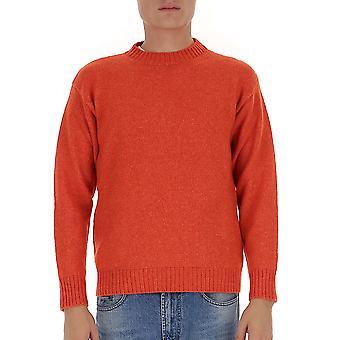 Laneus Mgu570cc3arancio Men's Oranje wollen trui