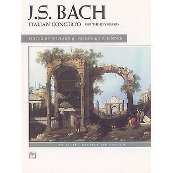 Bach italiensk konsert av komponistJohann Sebastian Bach & Av komponist Willard A Palmer