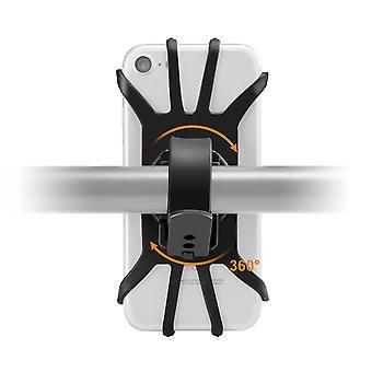 Bike bicycle handlebar phone holder mount 360º rotation for 3.5 inch-6.5 inch smart phone samsung galaxy s10 iphone xs max
