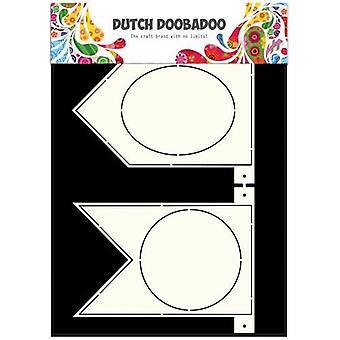 Hollanti Doobadoo Hollanti Card Art Kaavain Banner flags A4 470.713.319