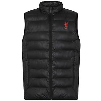 Liverpool FC Official Football Gift Boys Wyściełane Body Warmer Jacket Gilet