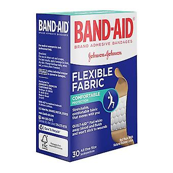 Band-aid flexible fabric bandages, memory-weave, 3/4 inch, 30 ea