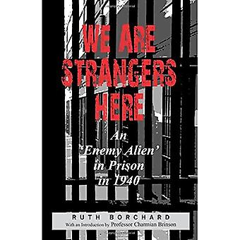 We are strangers here
