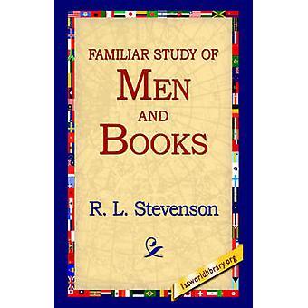 Un estudio Familiar de hombres y libros de Stevenson y Robert Louis