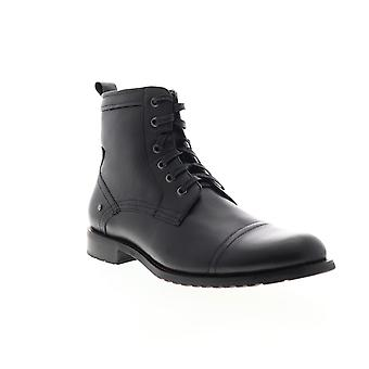 English Laundry Vron  Mens Black Leather Casual Dress Boots Shoes