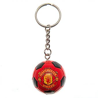 Manchester United FC Football Keyring