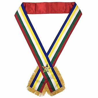 Masonic order of the eastern star oes sash