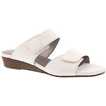 ARRAY Womens KEY WEST stof open teen formele dia sandalen