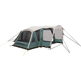 Outwell Hartsdale 4PA Prime Air 4 Man 3 Room Inflatable Tunnel Tent Green