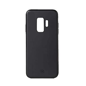 Celly Magnetic Ghost Backcover Hoesje Samsung Galaxy S9 - Zwart