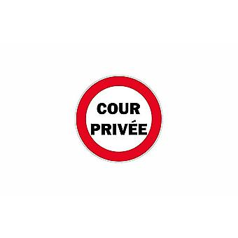 Stick stick sticker adhesive signage plate door private courtyard panel