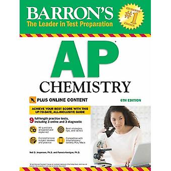 Barrons AP chemie met online tests door Neil D Jespersen & pH D Pamela Kerrigan