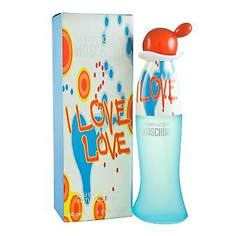 Moschino - I Love Love - Eau De Toilette - 30ML