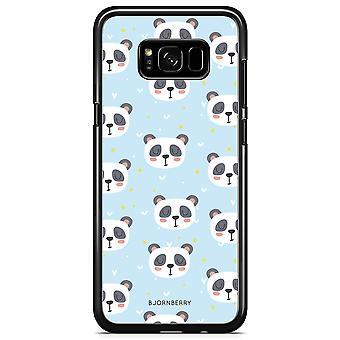 Bjornberry Shell Samsung Galaxy S8 Plus - Panda Muster