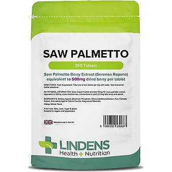 Lindens Saw Palmetto 500mg Tabletit 365 (687)